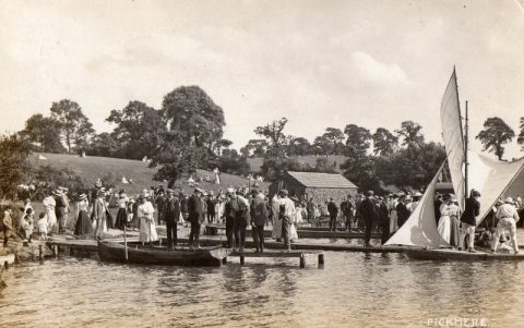 Boating in days gone by